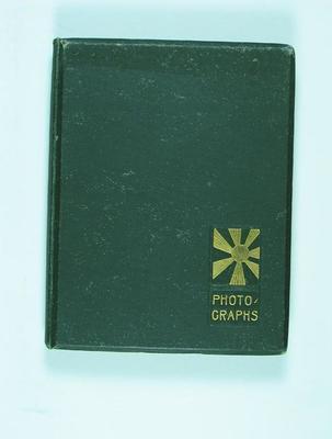 Photograph album assembled by Frank Laver, Australian cricket team 1913-14