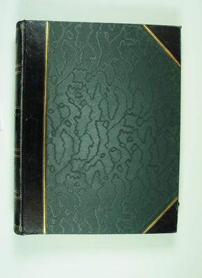 Photograph album assembled by Frank Laver, c1905