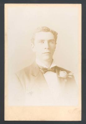 Photograph from Frank Laver's photograph album, Percy McAlister