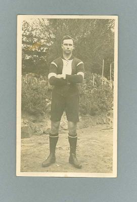 Photographic Postcard - Unidentified 1923 St Kilda Football Club Team Player
