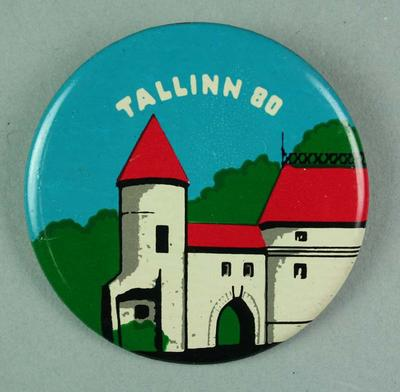 Badge, 1980 Olympic Games - Tallinn