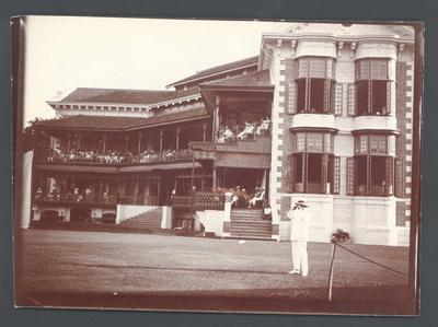Photograph from Frank Laver's photograph album, Australian cricket team tour of England 1909