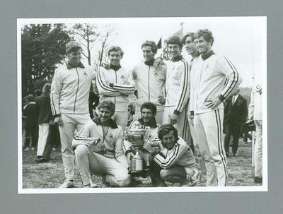 Photograph - The Winning NSW '8' with the King's Cup, Tasmania 4 March 1972