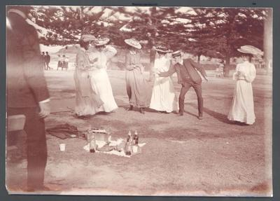Photograph from Frank Laver's photograph album, friends and family c1900-09