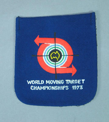 Blazer pocket, World Moving Target Championships 1973