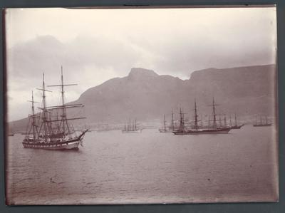 Photograph from Frank Laver's photograph album, travel scenes c1900-09