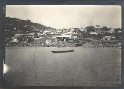 Photograph from Frank Laver's photograph album, travel scenes - undated