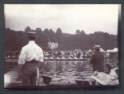 Photograph from Frank Laver's photograph album, Henley Regatta - 1905