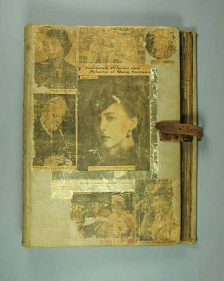 Scrapbook, contains clippings associated with life & career of Dave McNamara; Documents and books; 1992.2660.22