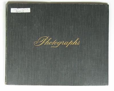 Frank Laver's photograph album, undated