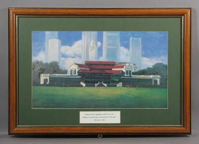Painting, Singapore Cricket Club 1991