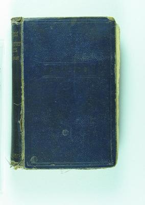 """Book owned by Frank Laver, """"Elementary Physics"""" by Balfour Stewart"""
