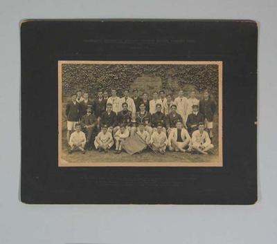 Photograph of Melbourne Church of England Grammar School Running Team, 1908