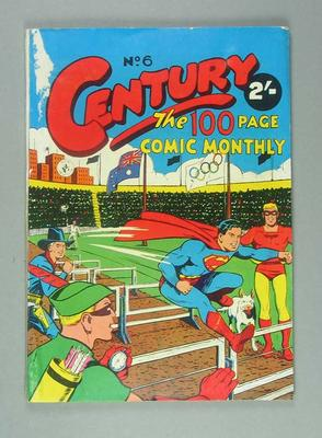 Century No. 6 Comic Monthly - Special 1956 Olympic Games Edition