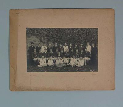 Photograph of Melbourne Church of England Grammar School Running Team, c1908
