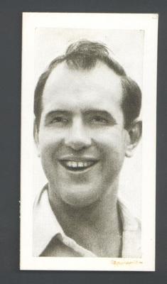 1956 Kane Products Ltd Cricketers Colin McDonald trade card