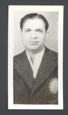 1956 Kane Products Ltd Cricketers  Vinoo Mankad trade card