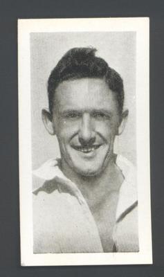 1956 Kane Products Ltd Cricketers  Alan Davidson trade card