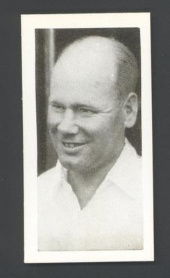 1956 Kane Products Ltd Cricketers Gil Langley trade card