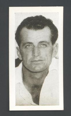 1956 Kane Products Ltd Cricketers Ken Mackay trade card