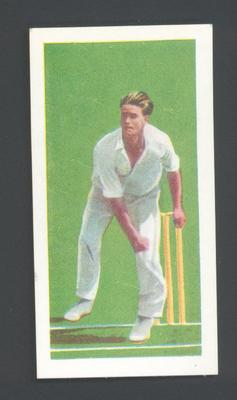 1956 Kane Products Ltd Cricketers Brian Close trade card
