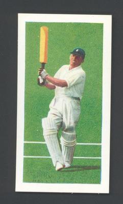 1956 Kane Products Ltd Cricketers  J.H. Wardle trade card