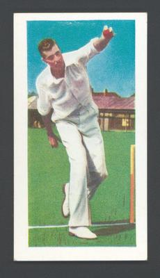 1956 Kane Products Ltd Cricketers Trevor Goddard trade card; Documents and books; M7587.48