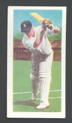 1956 Kane Products Ltd Cricketers Derrick McGlew trade card