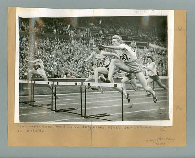 Photograph - Women's 80m hurdles 1948 Olympic Games - Fanny Blankers-Koen, Shirley Strickland