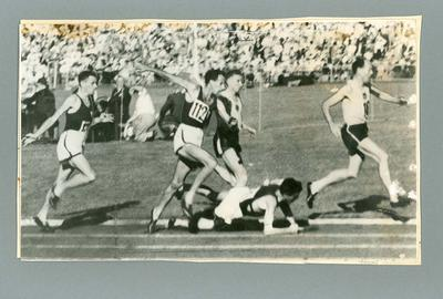 Photograph - runners 1956 Australian National Mile Championship - John Landy and Ron Clarke; Photography; 1987.1766.5