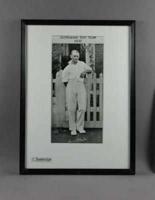 Photograph of Stan McCabe, 1930
