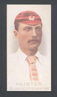 1982 Wills' Cigarettes Cricketers A Nostalgia Reprint J Painter trade card; Documents and books; M9889.37