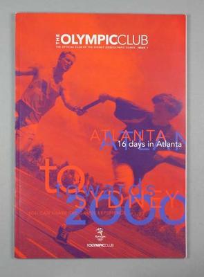 Magazine - 'The Olympic Club Magazine' Issue  No. 1