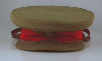 Military cap, worn by Ben Barnett