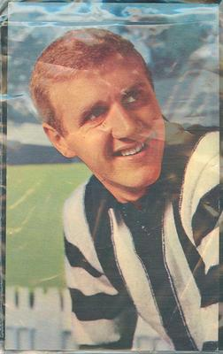 1964 Mobil VFL Footy Photos Terry Waters trade card