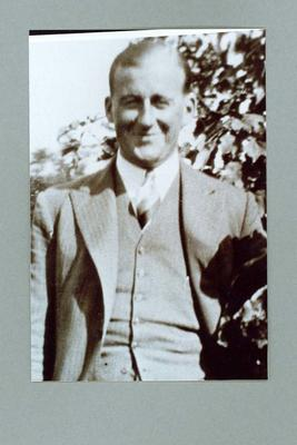Photograph of John Wallace, c1940s