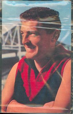1964 Mobil VFL Footy Photos Brian Dixon trade card