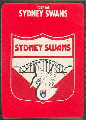 1991 Stimorol Australian Football Sydney Swans trade card; Documents and books; M11755.18