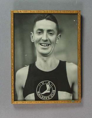 Framed photograph of Alan Reid, c1930s-40s; Photography; Framed; 1994.3095.54