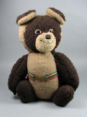 Soft toy, Misha - 1980 Moscow Olympic Games mascot