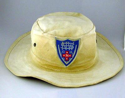 New South Wales cricket hat, worn by Geoff Lawson