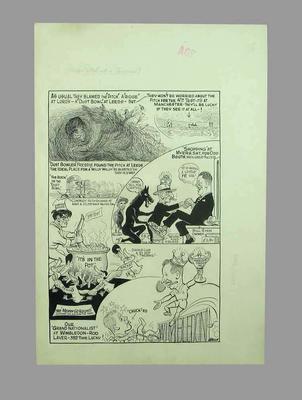 Multi-sport cartoon by Sam Wells, 1961; Artwork; M11835