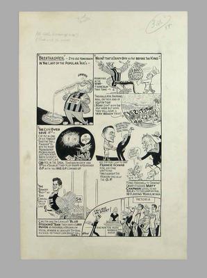 Cartoon, Victorian Football League 1961