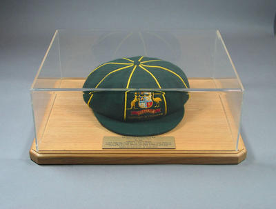 Australian cricket cap, Centenary of Federation Test match - Jan 2001
