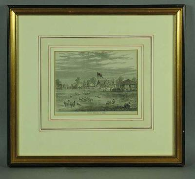 """Print, """"Lord's Ground in 1837"""""""