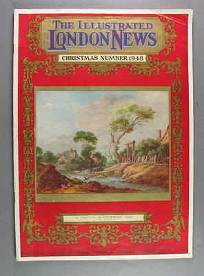 "Magazine, ""The Illustrated London News"" Christmas 1948 vol 213"