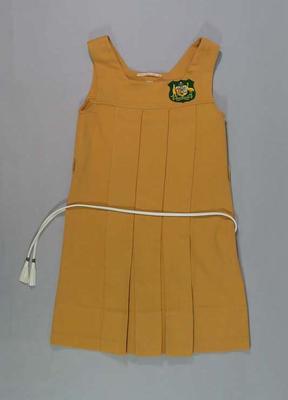 Tunic & belt, uniform of 1936 Australian Women's Hockey Team