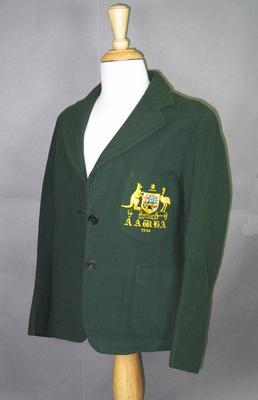 Blazer, 1936 Australian Women's Hockey Team
