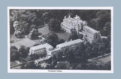 Postcard depicting Southlands College, c1948