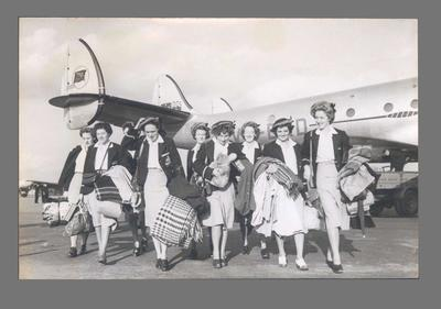 Photograph of female members of Australian team, 1948 Olympic Games; Photography; 2003.3903.269